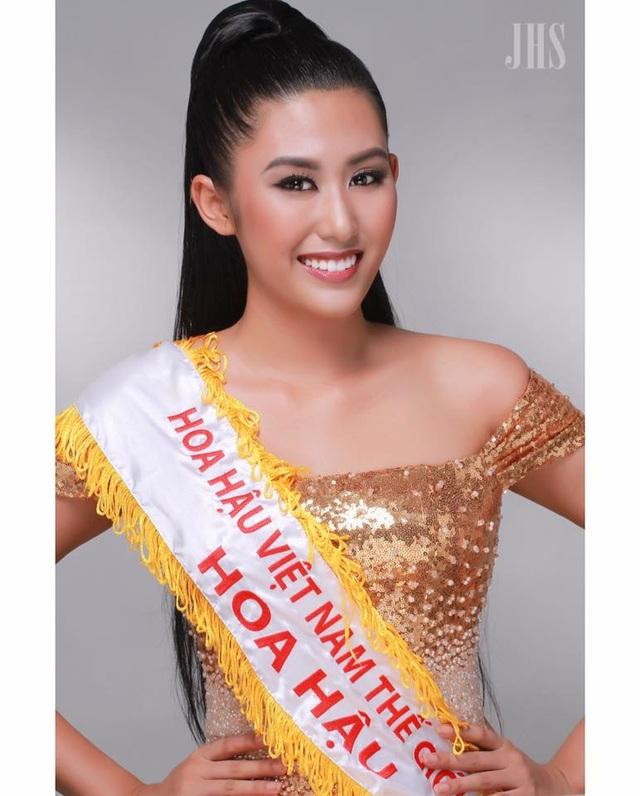 Hình ảnh Ngô Trúc Linh đăng quang Hoa hậu Thế giới người Việt 2014. Ảnh: NVCC.