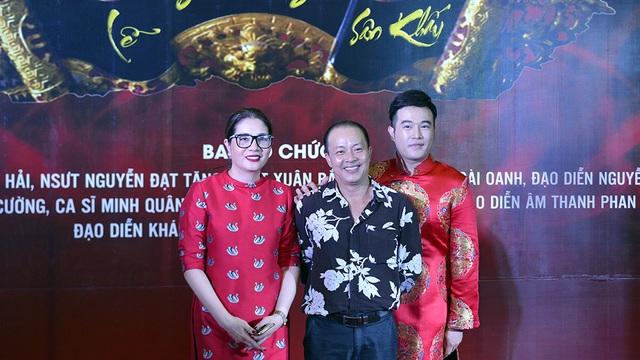 Đạo diễn Việt Thanh, NSƯT Đức Hải và ca sĩ Minh Quân.