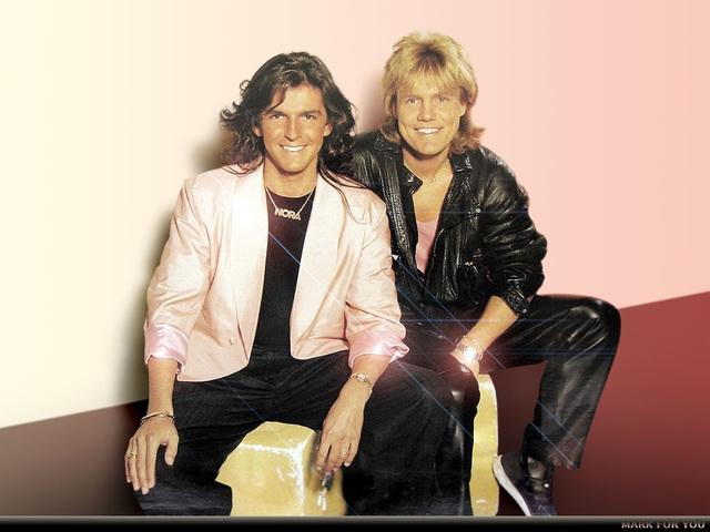 2 thành viên quen thuộc của ban nhạc Modern Talking. Ảnh: TL.