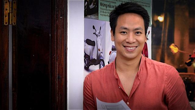 Đạo diễn Quang Tú nhận mình đang chạy rốt đa. Ảnh: NVCC.