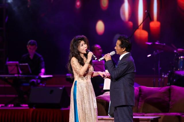 Các ca sĩ khách mời Quang Linh, Phương Dung, Sơn Tuyền đã mang lại những màu sắc mới.