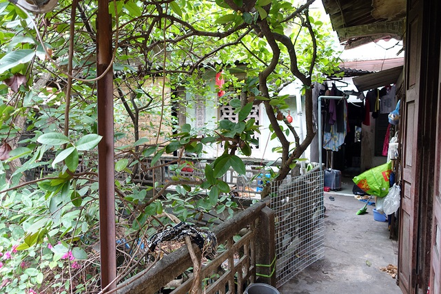 Một góc không gian sống của gia đình nam nghệ sĩ Phạm Bằng trên gác 2 ngõ 30 Hàng Giầy.