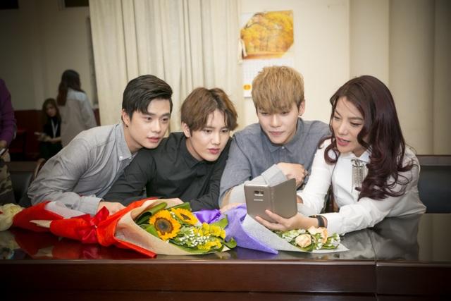 Trương Ngọc Ánh sẽ đóng phim cùng nhóm nhạc nổi tiếng xứ Hàn Offroad - 3