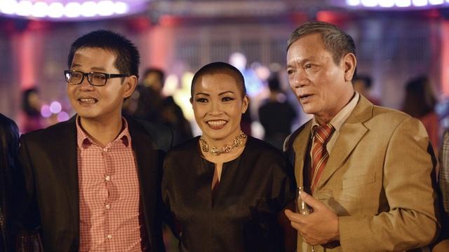 NSND Trung Hiếu, Phương Thanh và nghệ sĩ Quốc Trị.