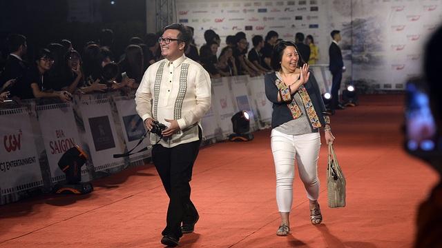 Thành viên đoàn làm phim Indonesia.