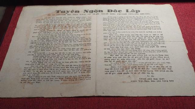 Truyền đơn Tuyên ngôn độc lập, Lời thề độc lập của mặt trận Hà Nội in gửi vào nội thành Hà Nội để tuyên truyền.
