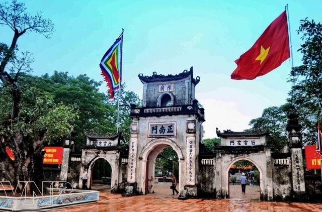 Khu di tích đền Trần - Nam Định. Ảnh: TL.