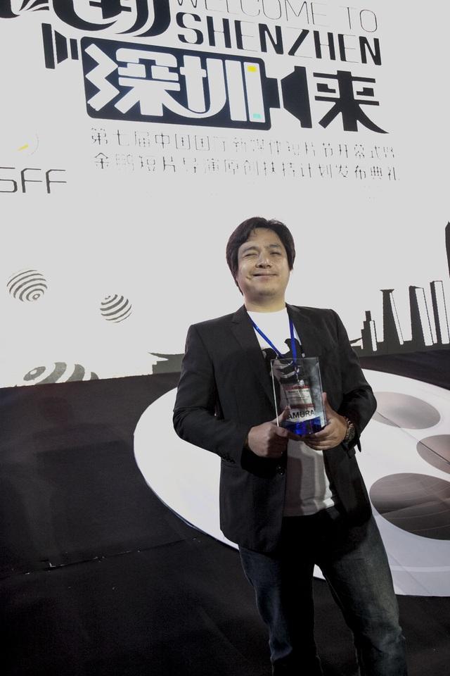"""""""Painted Flower"""" là bộ phim hoạt hình 3D thực tế ảo đầu tiên của Việt Nam, cũng là phim hoạt hình đầu tay của đạo diễn Phùng Đình Dũng. Ảnh: ĐLP."""