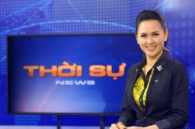 BTV Thuý Hằng cho biết, một trong những lý do khiến chị quyết định chia tay bản tin Thời sự 19h là vì gia đình. Ảnh: FBNV.