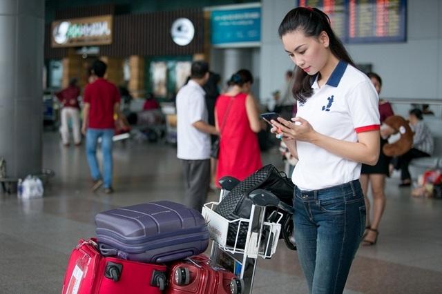 Phạm Thuỳ Linh đã lên đường qua Malaysia từ hôm 14/12 để bắt đầu tham gia cuộc thi.