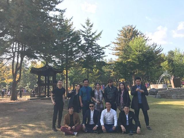 Ê-kíp làm phim Tết này con ở đâu? sang Hàn Quốc quay bối cảnh vào tháng 10/2016.