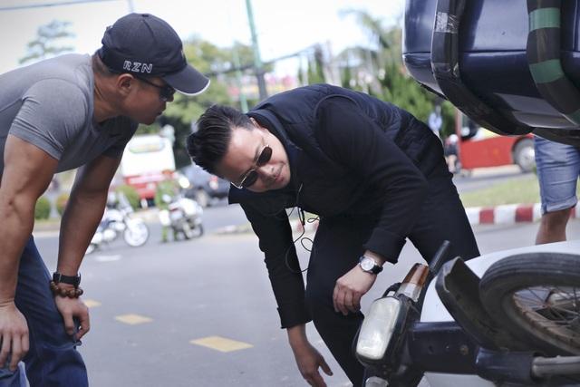 Victor Vũ âm thầm lên xứ lạnh làm phim cùng Vincent Wang - 3