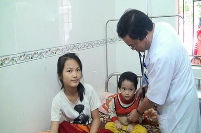 Hiện sức khỏe của 2 cháu Thu và Hằng đã ổn định và có thể xuất viện.