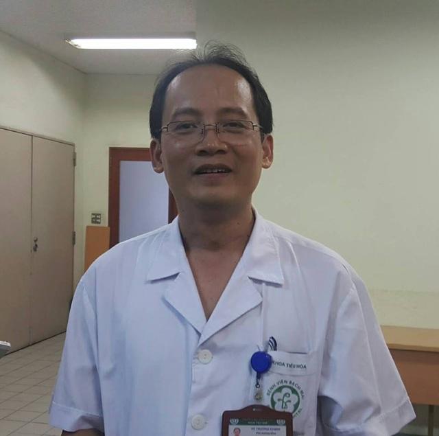 TS Khanh cho biết, việc can thiệp để giảm tình trạng gan nhiễm mỡ phải phụ thuộc vào căn nguyên gây bệnh. Ảnh: H.Hải