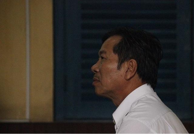 Bị cáo Dẫn tại phiên tòa phúc thẩm.