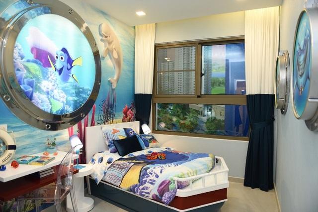 Căn hộ có diện tích sử dụng từ 60~70m2 – 2 phòng ngủ là lựa chọn của nhiều gia đình trẻ