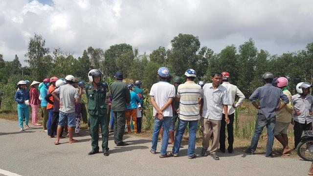 Lực lượng chức năng Việt Nam và nước bạn Campuchia phối hợp xác minh nguyên nhân vụ việc.