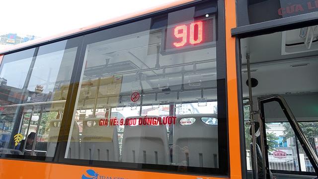 Thời gian phục vụ ở đầu bến xe Kim Mã từ 5h30 đến 21h30, tần suất 20 phút/chuyến.