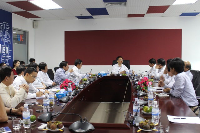 Phó Thủ tướng Vũ Đức Đam thăm và làm việc với ĐH Đà Nẵng chiều 24/9