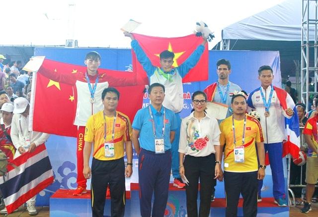 Liên tục chiến thắng với những cơn mưa huy chương vàng, thể thao Việt Nam nhất toàn đoàn trong bảng xếp hạng ABG 5