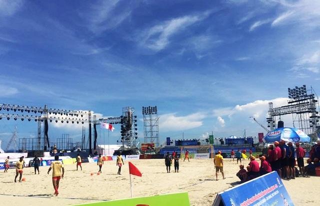 Thời tiết nắng đẹp trong suốt những ngày diễn ra ABG 5 tại Đà Nẵng ủng hộ các VĐV thi đấu