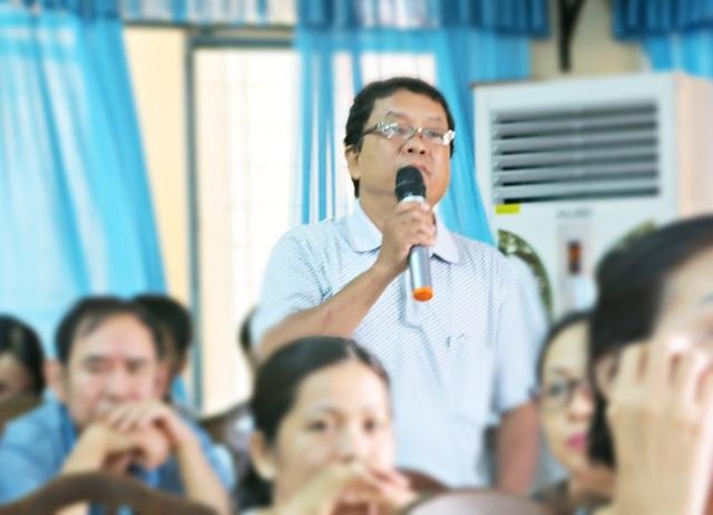 Cử tri Đào Trọng trình bày mong muốn Đảng, Nhà nước truy tặng danh hiệu Anh hùng lao động cho ông Nguyễn Bá Thanh - cố Bí thư Thành ủy Đà Nẵng