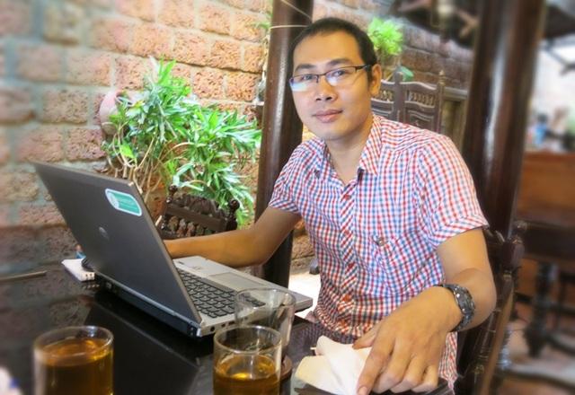 Anh Đỗ Trần Anh - Trưởng nhóm tác giả sản phẩm lọt chung khảo NTĐV 2016 đến từ Farmtech
