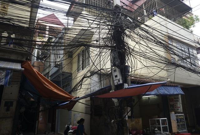 Tại ngõ 35 phố Cát Linh (quận Đống Đa).