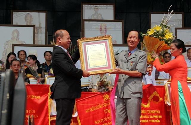 Ông Trần Văn Sen, người được Liên hiệp các hội UNESCO Thế giới vinh danh