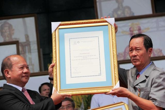 Liên hiệp UNESCO Thế giới tặng bằng tôn vinh các giá trị di sản lịch sử và văn hóa thời Trần