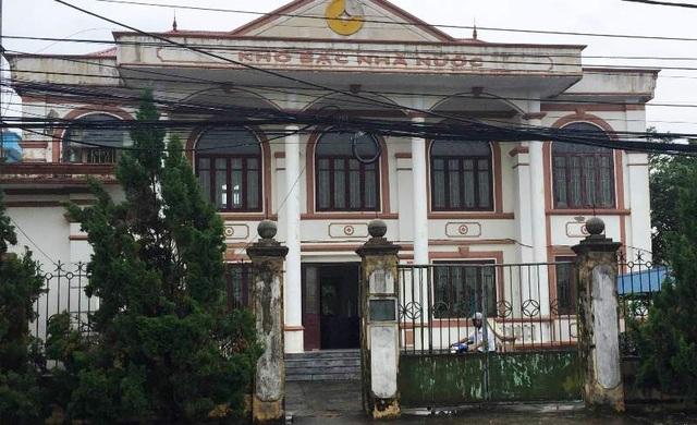 Kho Bạc Nhà nước huyện Giao Thủy.