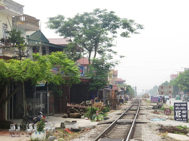 Khu vực ngã ba Cát Đằng, thôn Tân Lập, xã Yên Tiến, huyện Ý Yên nơi xảy ra vụ việc