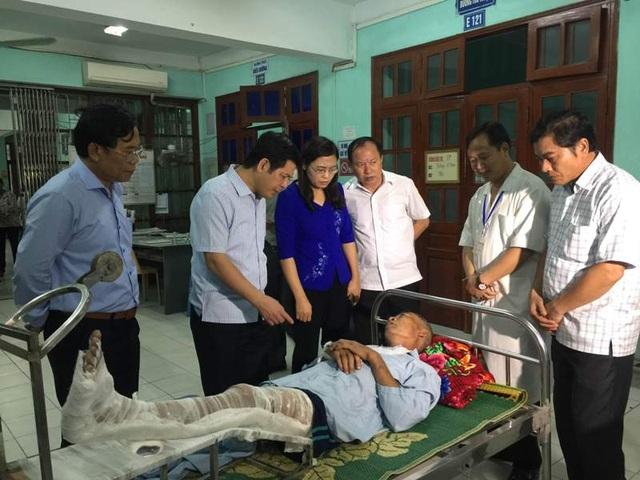 Phía tỉnh Thái Bình bước đầu hỗ trợ mỗi gia đình có người chết 10 triệu đồng, gia đình có người bị thương 3 triệu đồng