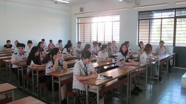 Học sinh TPHCM sẽ thi tốt nghiệp THPT theo phương án của Bộ GD-ĐT