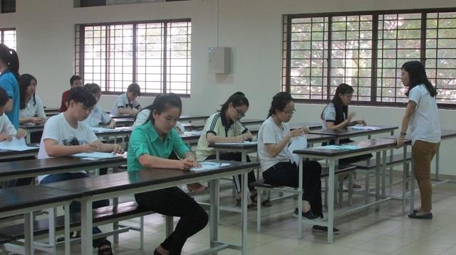 Thí sinh thi THPT tại một trường ĐH thành viên ĐHQG TPHCM