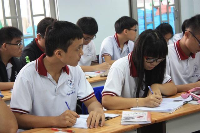 Học sinh THPT tại một trường ở TPHCM