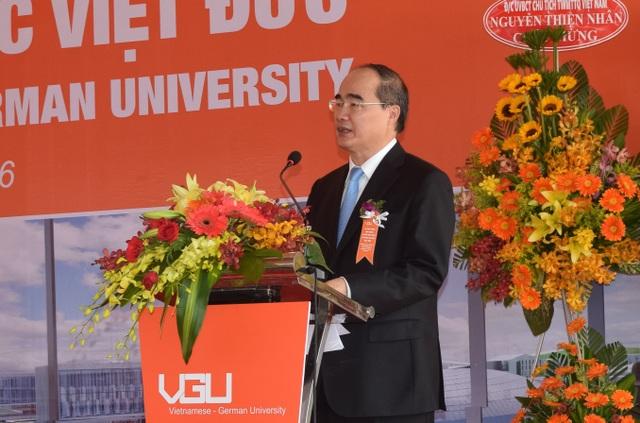 Chủ tịch Uỷ ban Trung ương MTTQ Việt Nam cho rằng dự án trường ĐH Việt Đức là một dự án rất đặc biệt