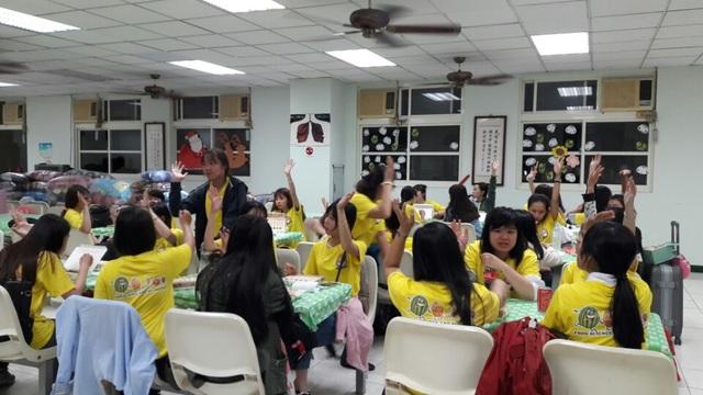 Sinh viên chương trình liên kết sinh hoạt đầu khóa tại Trường ĐH Mỹ Hòa (Meiho University – Taiwan)
