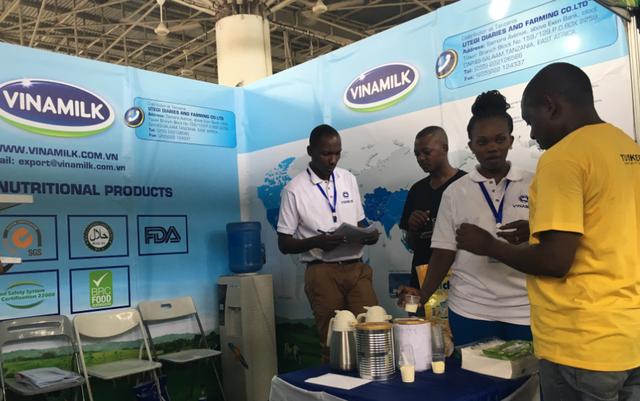 Vinamilk tiếp tục tấn công mạnh mẽ khu vực Châu Phi bằng các dòng sản phẩm đạt chất lượng Quốc tế.