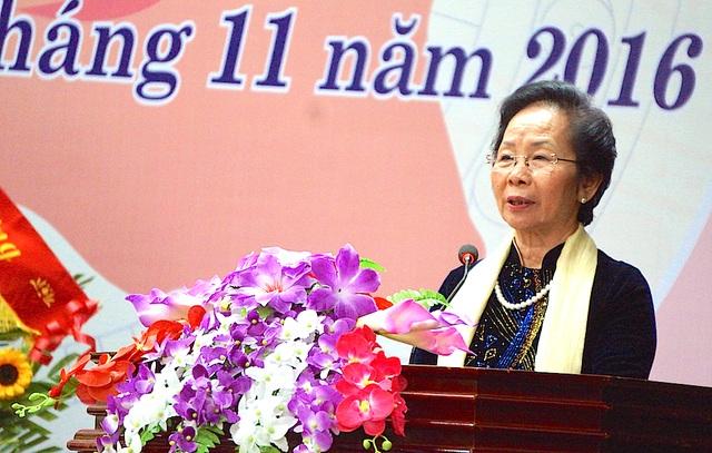Bà Nguyễn Thị Doan đánh giá cao những nỗ lực của Hội khuyến học Nghệ An.