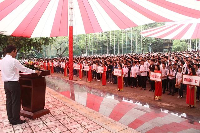 Lễ khai giảng năm học 2016 - 2017 của trường ĐH Bách khoa Hà Nội