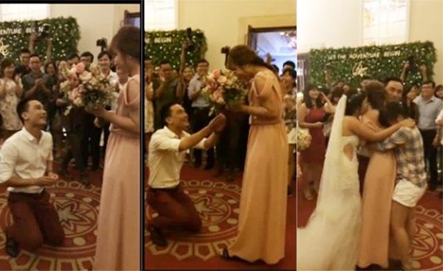 Màn cầu hôn trong đám cưới của bạn