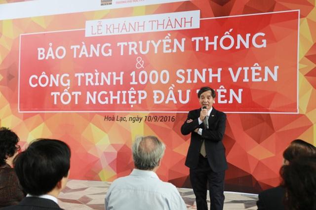 TS. Lê Trường Tùng nhận xét về bối cảnh giáo dục đại học của Việt Nam hiện nay.