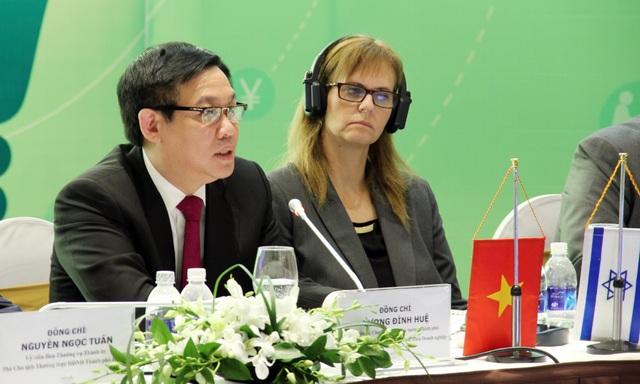 Phó Thủ tướng Chính phủ Vương Đình Huệ: Vấn đề quan trọng nhất hiện nay là xây dựng, hoàn thiện thể chế chính sách và tổ chức thực hiện thể chế chính sách về khởi nghiệp và hỗ trợ phát triển doanh nghiệp.