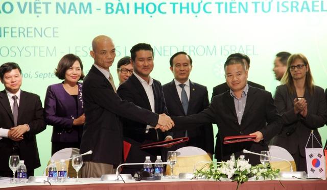 Lễ Ký kết chương trình hợp tác giữa thành phố Hà Nội với Quỹ tăng tốc khởi nghiệp Việt Nam (VIISA)