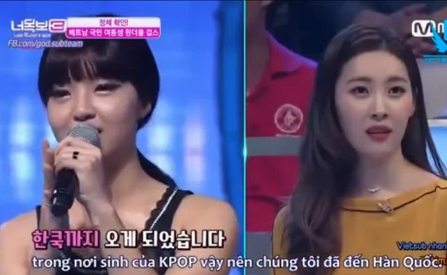 Một thành viên còn có khả năng nói tiếng Hàn khá tốt.