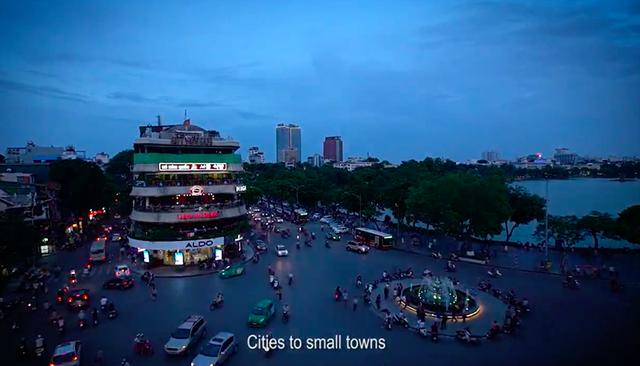 Những hình ảnh tuyệt đẹp về đất nước, con người Việt Nam trong MV này.