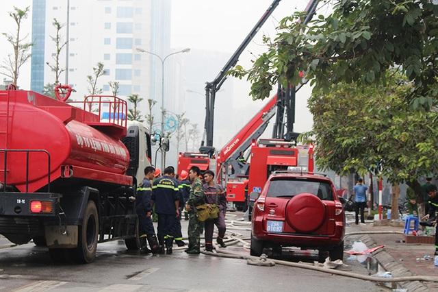 Muốn chữa cháy và cứu người được thì hàng ngày phải tập luyện kĩ năng và các thiết bị phá dỡ máy móc - một lính cứu hỏa chia sẻ