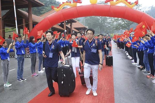 1.000 thanh niên Trung Quốc sang Việt Nam dự Liên hoan