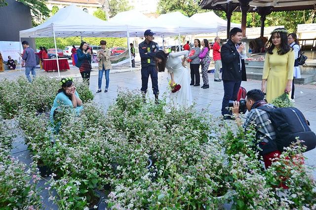 Trong 3 ngày 11,12,13/11 tại vườn hoa Lý Thái Tổ (Hà Nội) diễn ra chương trình Không gian văn hóa dân tộc Mông (Hà Giang). Điểm nhấn của sự kiện quảng bá văn hoá, du lịch này là vườn hoa tam giác mạch - loài hoa nổi tiếng ở vùng cao nguyên Hà Giang - được trưng bày tại đây.
